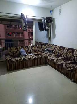 Furnished with electronic 2bhk flat for Rent palanpur canal