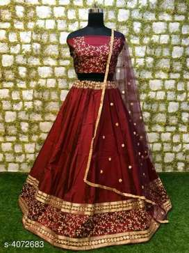 Brand New Silk lehenga in different colours