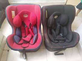 Car seaters available for sale