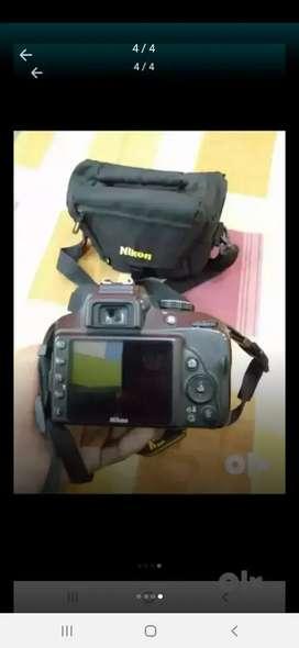 Nikon d3400 with kit lens