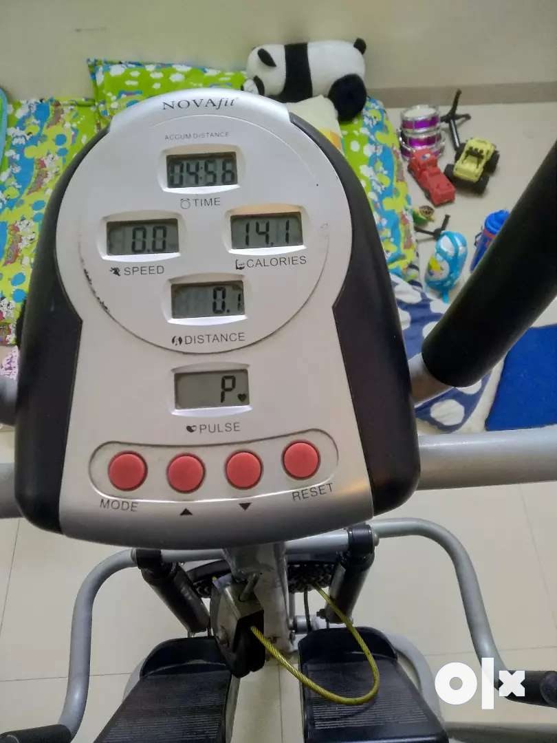 Used Manual treadmill for sale- Novafit 4 in 1 use 0