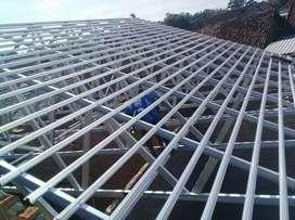 Konstruksi Baja Ringan Dan Kanopi Besi Dll