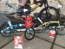 Sepeda Lipat Polygon Urbano 3 bisa di kredit DP 300 Ribu