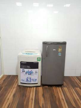 Good refrigerator in less price light used with warranty