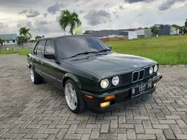 BMW E30 M40 318i Malechite Green thn. 91 Full Restorasi Mint Condition