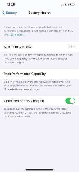 Iphone 11 pro max 256 under warranty 93% battery health with 4 cover