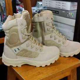 Sepatu tactical bots under armour 8inc