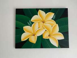 Lukisan kamboja dari Bali