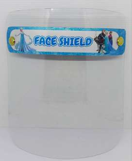 face shield anak buka tutup / face shield frozen
