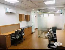 Fully Furnished 425Sqft office Space 19000/-