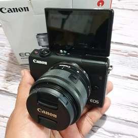 Canon EOS M100 Fullset Istimewa