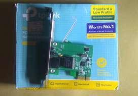 Lan Card TP-link TG-3468 Gigabit PCI Express Bekas Rasa Baru