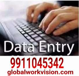 Data entry computer operator home based work apply
