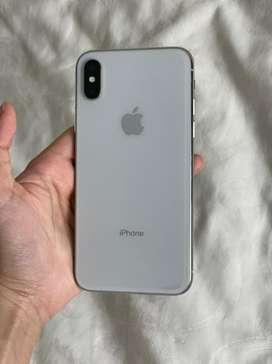 Jual iPhone X 64GB Silver