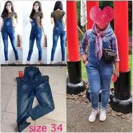 Preloved Jumsuit jeans