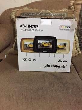 Headrest Audiobank AB-HM709