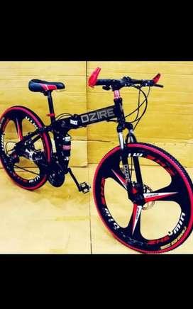 New Foldable macwheel cycle with shimano gears
