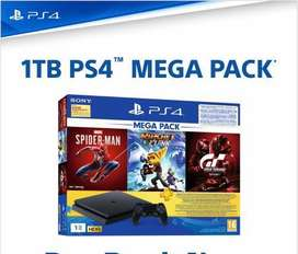 Ps4 available now 1 tb 1 year warranty