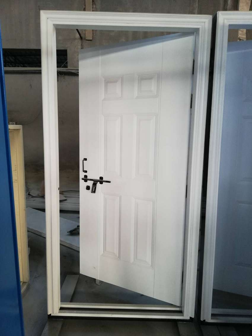 SeccoPak Steel Wooden Design Doors 0