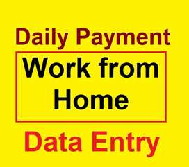 Daily Payment and Weekly Payment Data Entry Jobs..