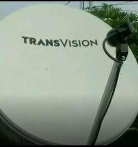Gebyar parabola TRANSVISION HD resmi Surakarta setahun hemat 790rb