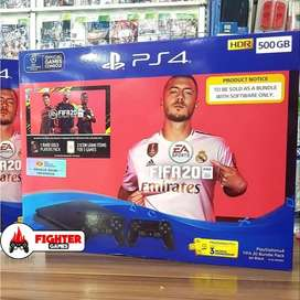 SONY PS4 +FIFA 20 +2STICK GARANSI RESMI