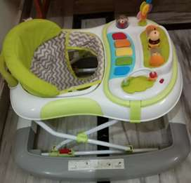 Babyhug little footsteps walker Cum rocker with 2 level hight