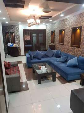 Ground furnish 10 Marla portion for rent in bahria phase 2