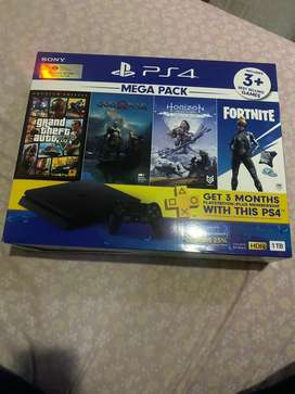 Jual PS 4 slim ,, 1 TB murah