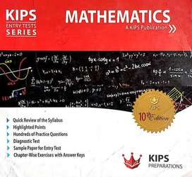 KIPS ECAT PREPARATION PRACTICE BOOKMATHSANS PHYSICS AMA
