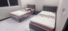 Tuffted pair single bed