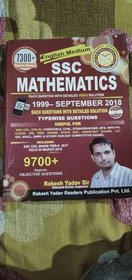 SSC Mathematics by Rakesh Yadav sir