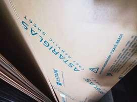 ACRYLIC SHEET ( kaca akrilik / mika) SUSU 10mm uk. 122x244 cm