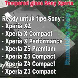 Tempered glass sony xperia