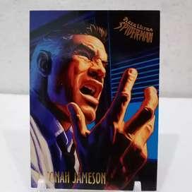 Kartu Fleer Ultra Jonah Jameson
