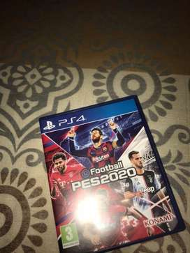 PES 2020 Video Game for PS4