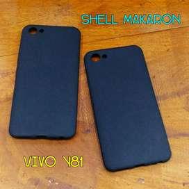 Softcase Shell Makaron Vivo Y81