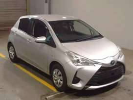 Vitz hybrid new shape fresh clear