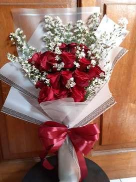 Buket bunga asli fresh ELEANOR FLORIST