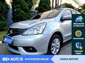 [OLX Autos] Nissan Livina 1.5 XV Bensin AT 2015 Silver #Kanza