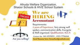 Accountant (Experienced and Committed)