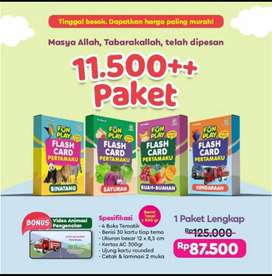 READY !! FUN PLAY FLASH CARD PERTAMAKU || TRILINGUAL  ADA 3 BAHASA