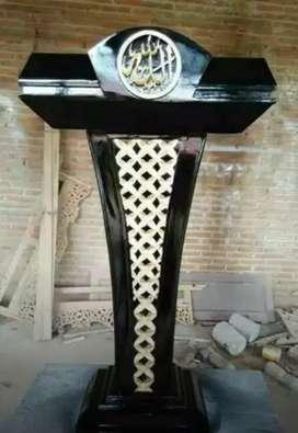 mimbar masjid terkini mewah