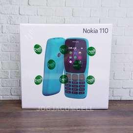 Nokia 110 Dual SIM Micro SD Support Garansi Resmi TAM