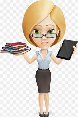We looking for experienced female accountant .