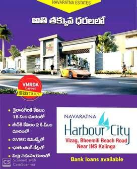 3bhk duplex villa's/independent houses  @Ins kalinga bheemili beach.