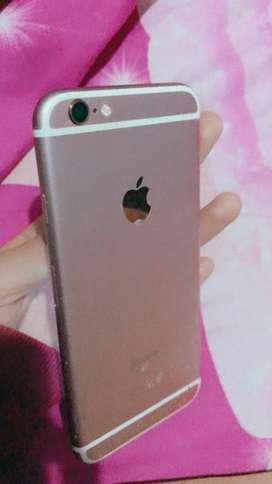 Dijual iphone 6s 16gb, noken. Lecet pemakaian