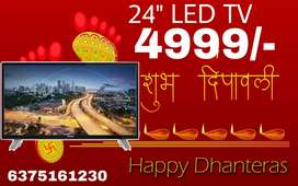 Diwali Best Offers 24 inch Full HD LED TV 1 Year Warrenty