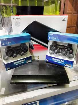 PS3 Super Slim 500GB Full Game Baru Garansi