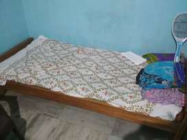 Single bed with mattress for sell